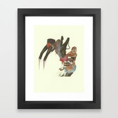 If I Did Not Work, These… Framed Art Print