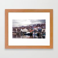 The Harbour Scarborough Framed Art Print