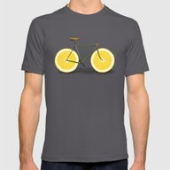 Zest Mens Fitted Tee Asphalt SMALL