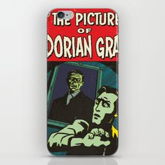 Oscar Wilde's Dorian Gray: Vintage Comic Cover iPhone & iPod Skin