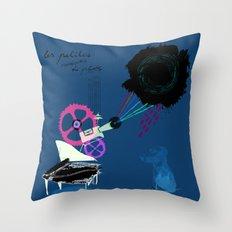 Chapi Chapo - Les Petites Musiques de Pluie  Throw Pillow