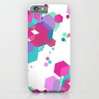 Hex Pattern iPhone 6 Slim Case
