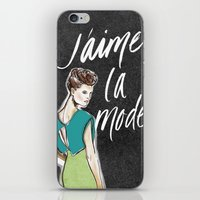 I Love Fashion iPhone & iPod Skin