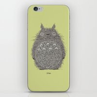 Avocado Totoro iPhone & iPod Skin