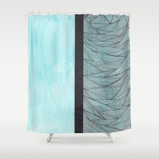 Watercolor 2 Shower Curtain