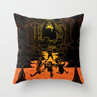 Ruuuun!! Throw Pillow
