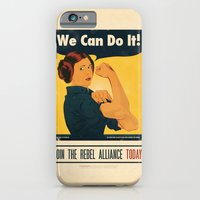 Leia the Riveter 2: The Alliance Strikes Back iPhone 6 Slim Case