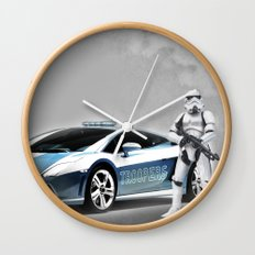 Lamborghini Troopers Wall Clock
