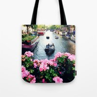 in love with Amster  Tote Bag