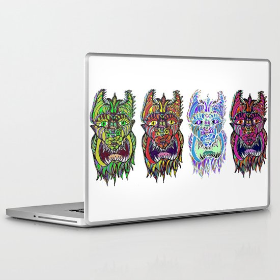 Monster Laptop & iPad Skin