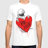 Bursting With Love Mens Fitted Tee White SMALL