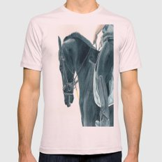 Friesian Horse 2 Mens Fitted Tee Light Pink SMALL