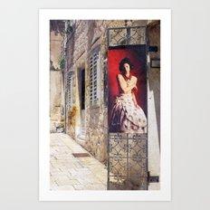 La Boutique Art Print