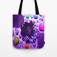 Purple Blossom Tote Bag