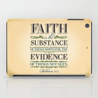 The Substance of Things Hoped for . . . iPad Case