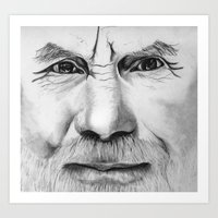 Untitled (Face Number 2) Art Print
