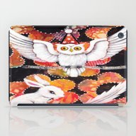 iPad Case featuring The Owl by Judy Skowron