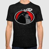 GO, APE Mens Fitted Tee Tri-Black SMALL