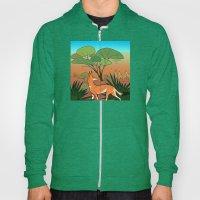 Ethiopian Wolf Hoody