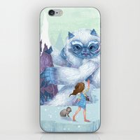 The Monstrous Mountains iPhone & iPod Skin