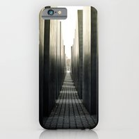iPhone & iPod Case featuring High Street by Tom Radenz