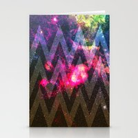 Space Chevron - For Ipho… Stationery Cards