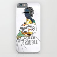 iPhone & iPod Case featuring A P S queen by Super Urban