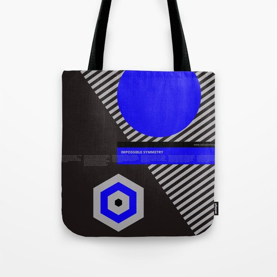 Impossible Symmetry - By Tote Bag