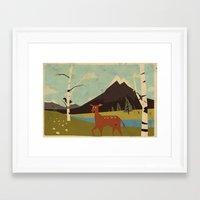 Bambiland Framed Art Print