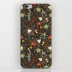 Cute Hedgehogs iPhone & iPod Skin