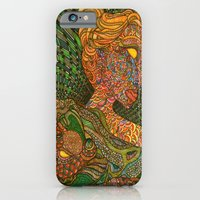 iPhone & iPod Case featuring Scarlet & Equine by Matthew Klaver