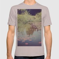 Lillypads Mens Fitted Tee Cinder SMALL