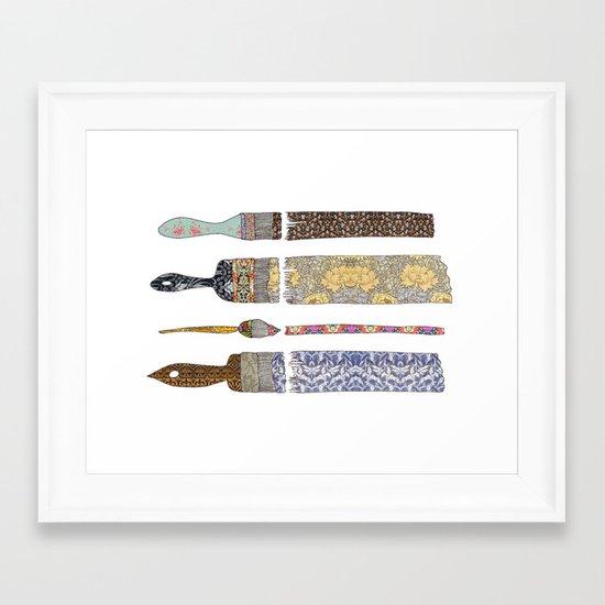 color your life Framed Art Print