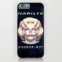 MARILYN MONROBOT - 079 iPhone 6 Slim Case