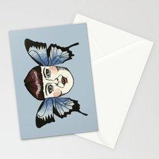butterfly lady. Stationery Cards