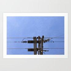 Electrical Art Print