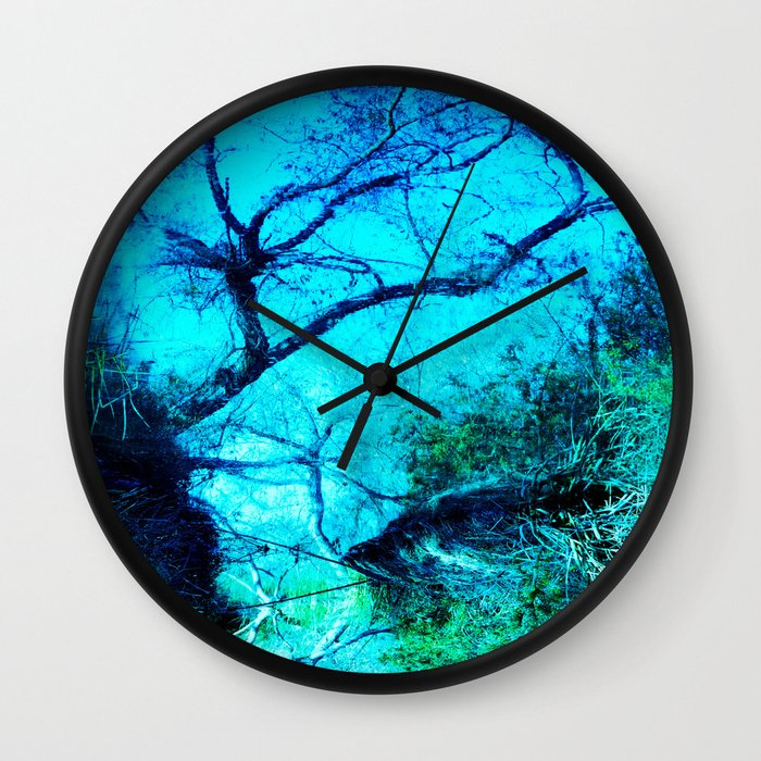 Upside Down World. © S. Montague. Wall Clock by J&S ...