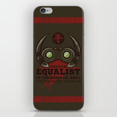 Equalist in Training iPhone & iPod Skin