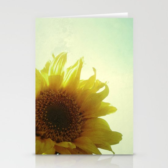 Sunflower Stationery Card