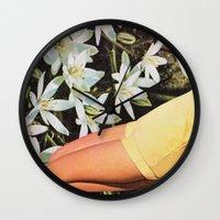 HORTICULTURE Wall Clock