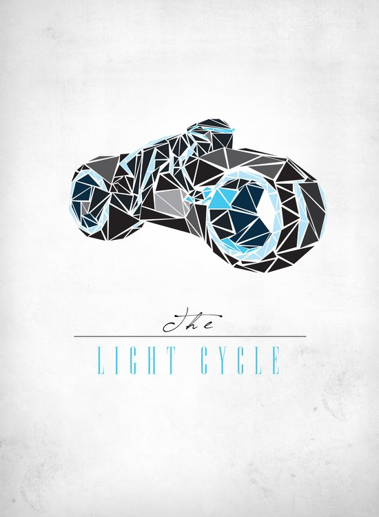The Light Cycle Art Print
