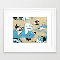 Tobermory III Framed Art Print