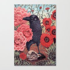 Crow Effigy Canvas Print