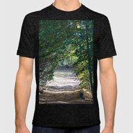 Country Road Mens Fitted Tee Tri-Black SMALL