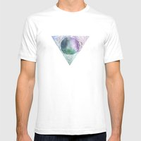 Over The Mountain, Deep … Mens Fitted Tee White SMALL