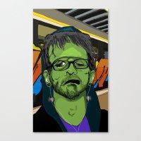 Hip Frankenstein Canvas Print