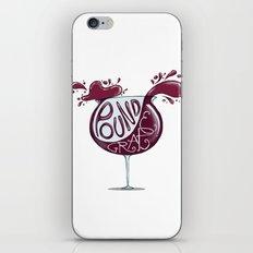 Wino iPhone & iPod Skin