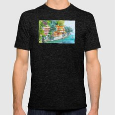 Dream place Mens Fitted Tee Tri-Black SMALL