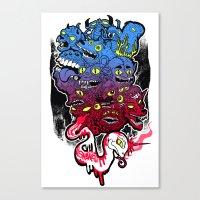 B E A S T S Canvas Print