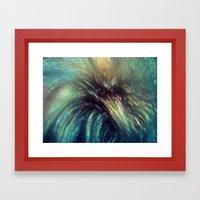 Bischon Flower Framed Art Print